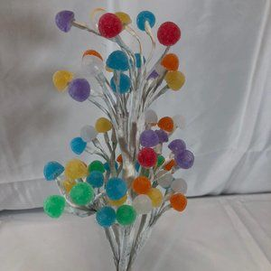 """16"""" Illuminated Gum Drop Candy Tree by Valerie"""